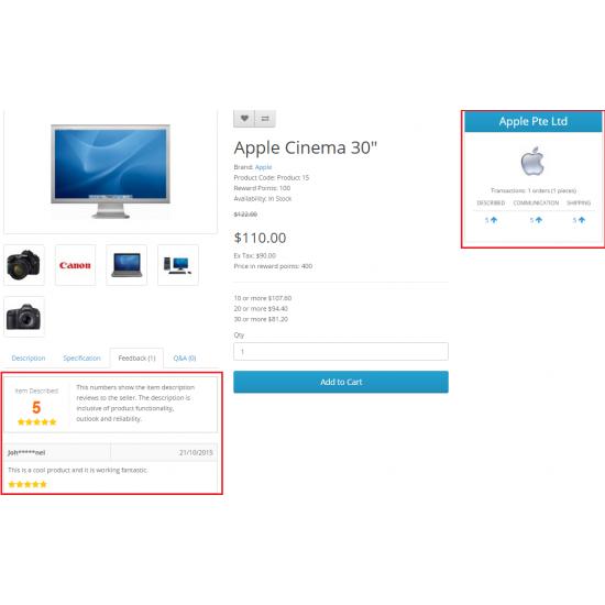 Multi Vendor / Dropshipper Advance Rating And QA 2.0