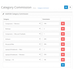 Multi Vendor / Drop Shipper Category Commission Module