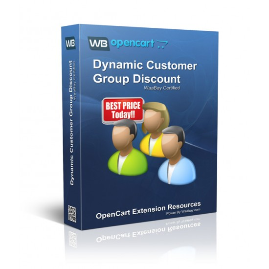 Dynamic Customer Group Discount