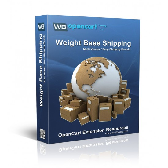 Multi Vendor / DropShipper Weight Base Shipping