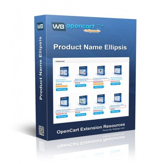 Product Name Ellipsis