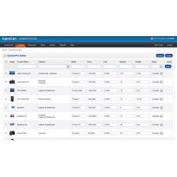 QuickerPro Editor (OpenCart Addon)