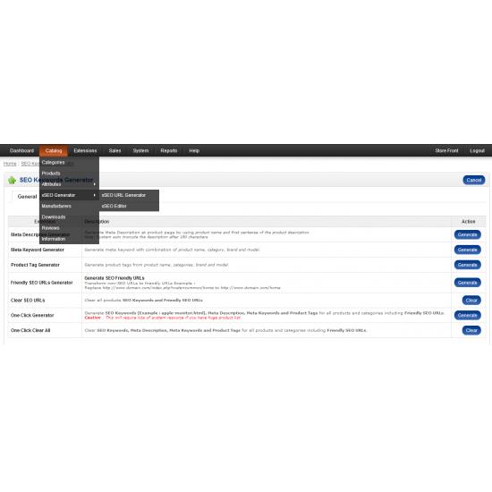 xSEO URL Generator